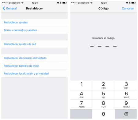 Restablecer Diccionario Teclado Iphone