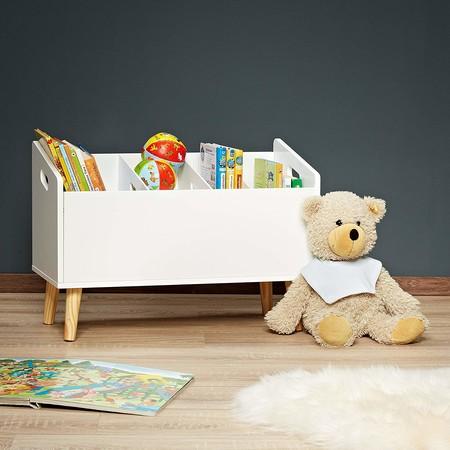 mueble de almacenaje de libros