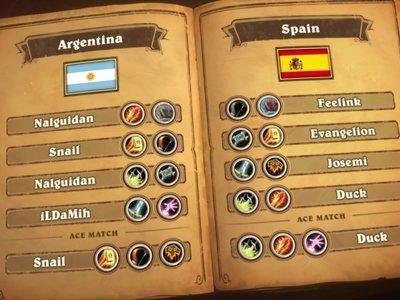 España vence y convence ante Argentina en los HGG