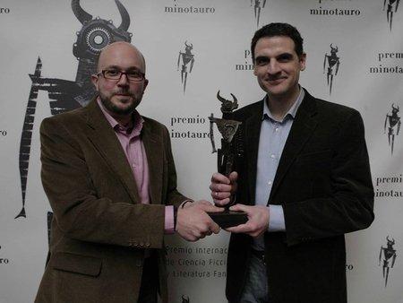 Y el IX Premio Minotauro es para... David Zurdo y Ángel Gutiérrez por 'La torre prohibida'