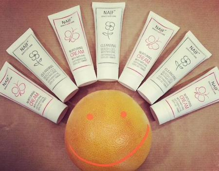 Naïf, marca holandesa de cosmética ecológica para bebés
