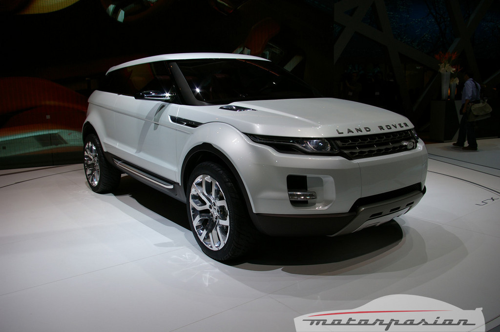 Foto de Land Rover LRX Concept en el salón de Ginebra (6/11)