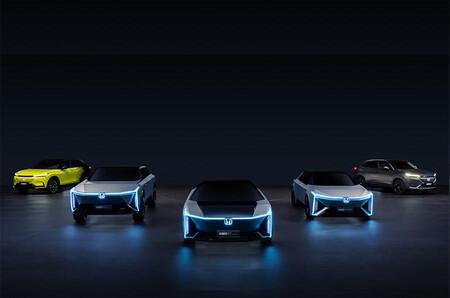 Honda lanza teaser de los nuevos vehículos eléctricos que presentará en su nueva familia e:N