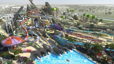 El parque acuático Yas Waterworld abre sus puertas en Abu Dhabi