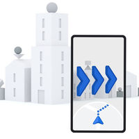 Google Maps hace más fácil la navegación RA con un nuevo icono, aún en pruebas