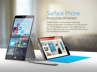 """Según Rudy Huyn el Surface Phone sería un """"dispositivo de bolsillo"""" totalmente innovador"""