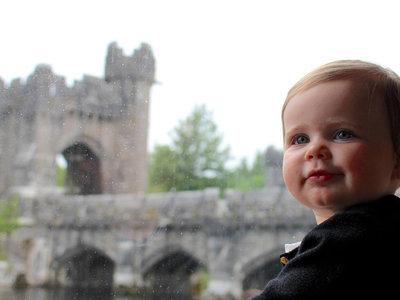 Este bebé trotamundos ha estado en 31 países y sólo tiene un año de edad