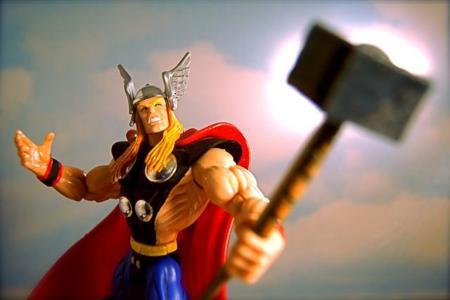 Entrenamiento de súper héroes: Thor