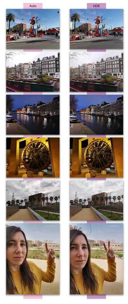 Huawei P30 Pro Comparacion Hdr