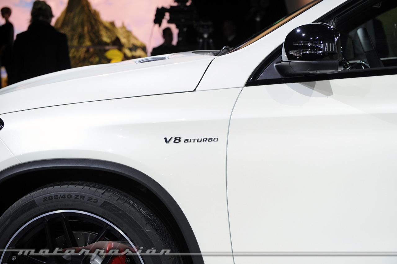 Foto de Mercedes-AMG GLE 63 Coupé (en vivo) (9/9)
