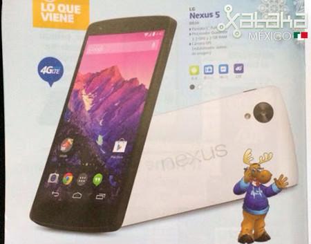 No lo duden, confirmamos que el Nexus 5 pronto llegará a México