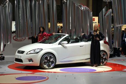 Fotos en vivo del Kia ex_cee'd Concept desde Ginebra