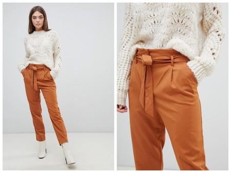 Look Con Pantalones Naranja