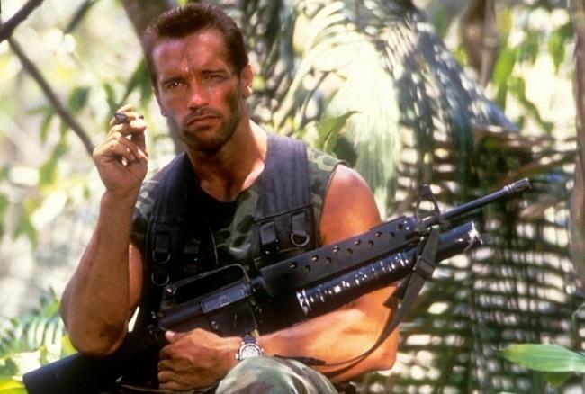 Arnold Schwarzenegger en 'Depredador'