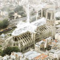 La no-nueva Notre Dame: placas solares, un techo sin forma definida y hasta 19 diseños locos que finalmente no serán realidad