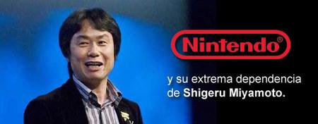 Nintendo y su extrema dependencia de Shigeru Miyamoto