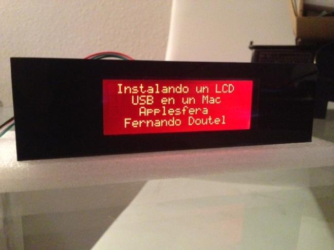 Instalando un LCD USB en un Mac