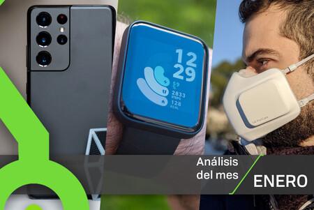 Los 11 análisis de Xataka en enero: móviles, relojes inteligentes, auriculares y todas nuestras reviews con sus notas