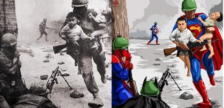 Artista crea una serie de ilustraciones de la infancia si fuera como los niños quisieran