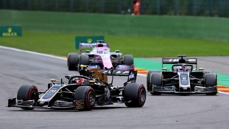 Magnussen Grosjean Spa F1 2019
