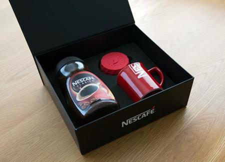 Nescafé convierte su tapa en un reloj despertador