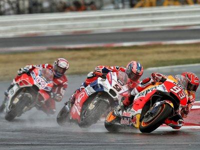 """Marc Márquez: """"He arriesgado demasiado en la última vuelta, pero la victoria y el liderato lo merecían"""""""