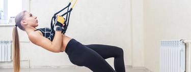 Novato con el TRX: los ocho ejercicios en suspensión que te ayudan a ponerte en forma
