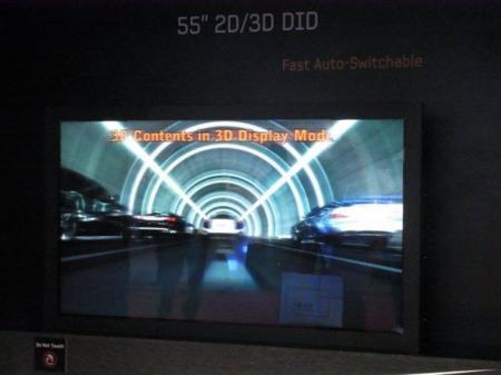 Samsung: nuestros televisores 3D sin gafas no estarán en el mercado en tres años, sino en diez