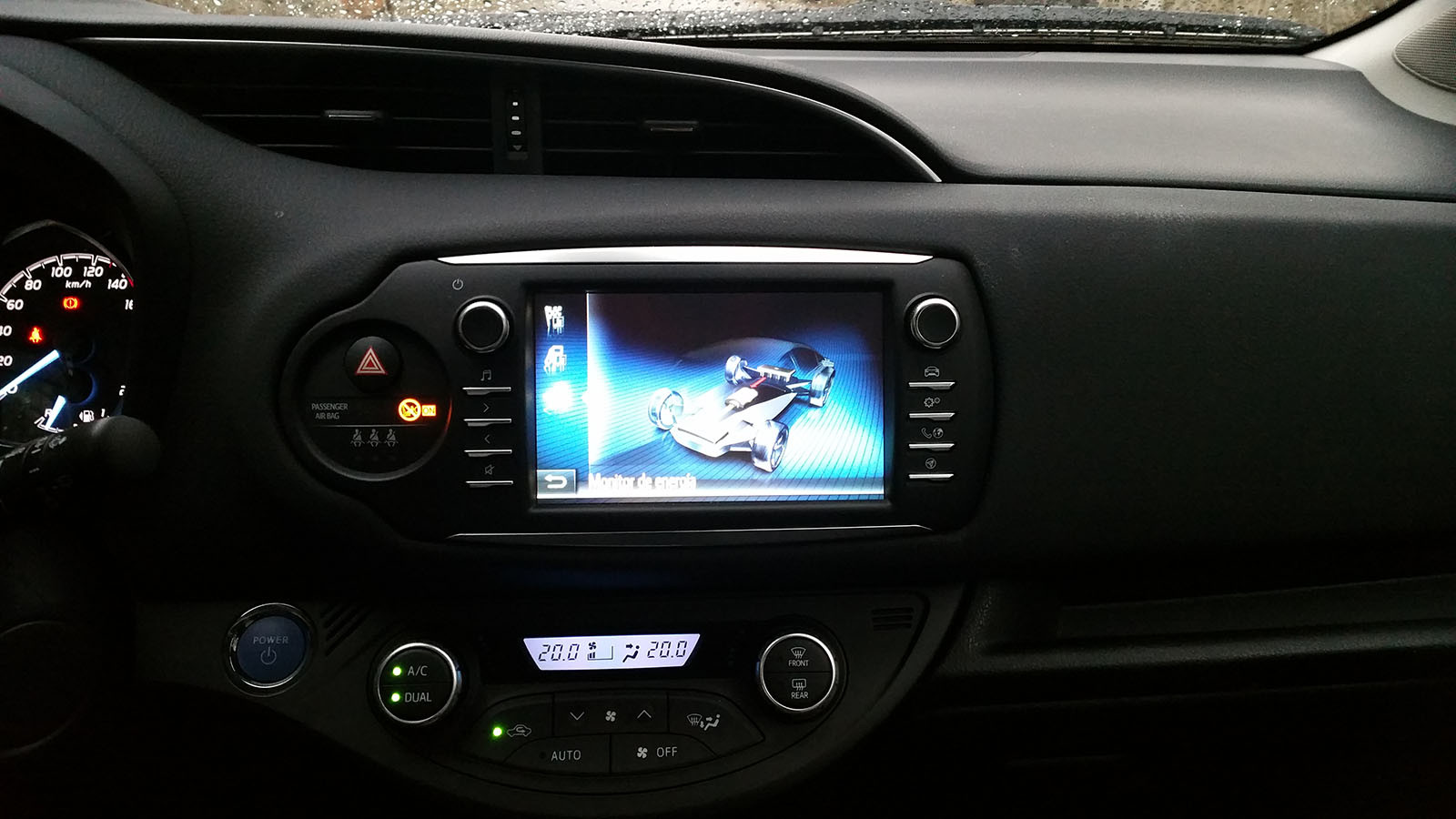 Foto de Pasamos unos días con el Toyota Yaris hybrid-Interiores (14/26)
