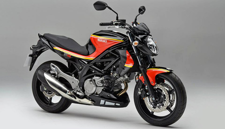 Suzuki Gladius Barry Sheene