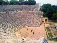 El fabuloso teatro de Epidauro (Grecia)