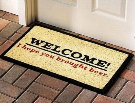 Felpudos originales: personaliza la entrada a casa