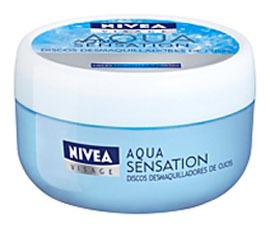 Discos desmaquilladores Aqua Sensation, a prueba