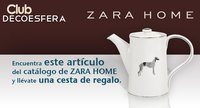 Gana con Decoesfera y Zara Home una cesta con artículos de su nueva colección