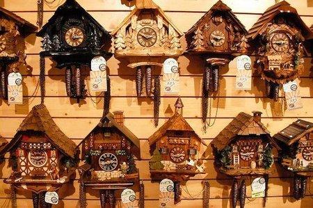 La ruta de los relojes en la Selva Negra (Alemania)