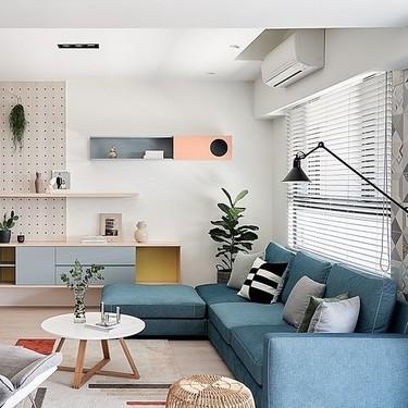 Consejos prácticos para diseñar el salón; cuando colocar en el salón un sofá chaise longue y cuando no conviene hacerlo