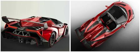 El Lamborghini Veneno Roadster costará 3,9 millones de euros
