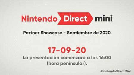 Nintendo emitirá el 17 de septiembre un nuevo Nintendo Direct Mini dedicado a los juegos de las third-party