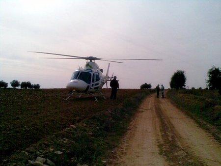 Helicoptero agentes