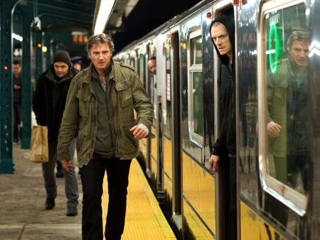 Liam Neeson y Joel Kinnaman en