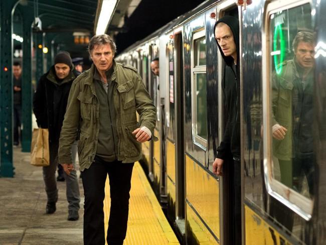 Liam Neeson y Joel Kinnaman en 'Una noche para sobrevivir'