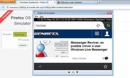 Mozilla lanza Firefox OS Simulator 3.0