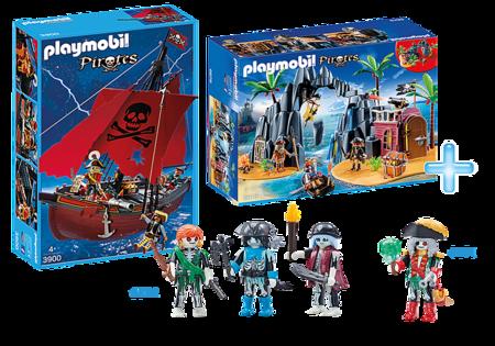 Pack Promocional Piratas