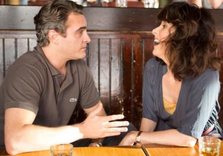 Joaquin Phoenix y Parker Posey