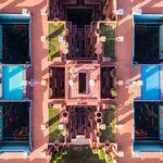 Barcelona geométrica: las fotografías a vista de drone que recogen la belleza de la capital catalana