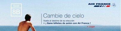 Air France también crea un juego y ofrece billetes como premio