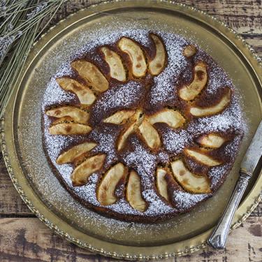 Pastel de manzana y ron: receta de postre o merienda sin gluten