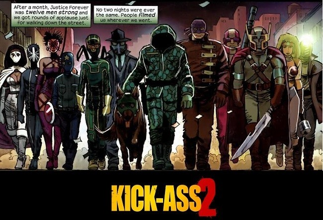 El cómic 'Kick Ass 2'