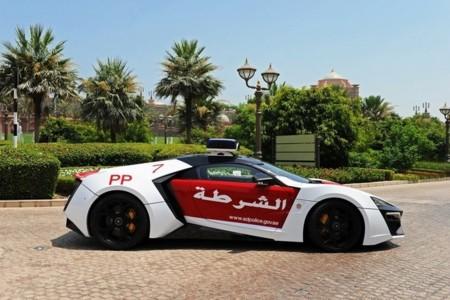 Lykan Hypersport, de coche de película a coche de policía