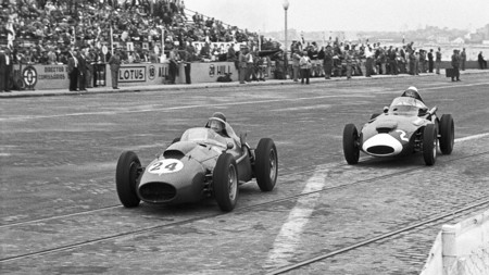 Stirling Moss Portugal F1 1958